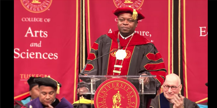 ESPN President Skipper Calls His Tuskegee Commencement Address a 'Profound' Experience